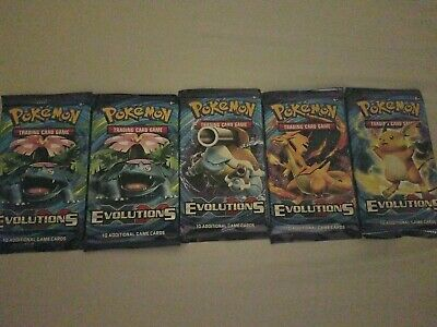 Pokemon TCG: XY Evolutions Sealed Booster Box - x5