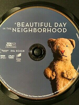 A Beautiful Day in the Neighborhood (2019) Fred Rogers Movie - DVD in black case