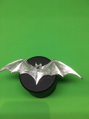 1.8oz The Bat- Hand Poured 999 Pure Silver.