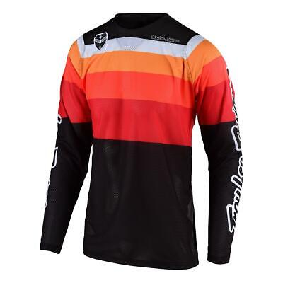 Troy Lee Designs Jersey SE Air Spectrum - Orange/Schwarz