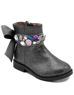 Juicy Couture  2 Kids JC Lil Naples Girls Low Shaft Ankle Boot