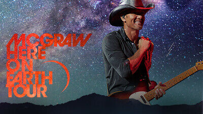 TM Verified Presale Codes for Tim McGraw Here On The Earth Tour