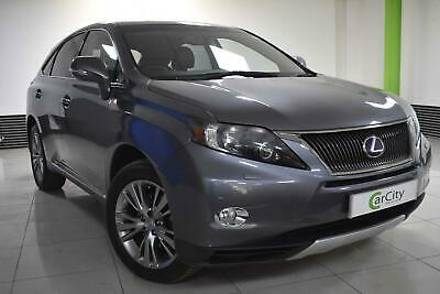 LEXUS RX 450h SUV 2009-2015 Rubber Boot Tailored Fitted Black Mat