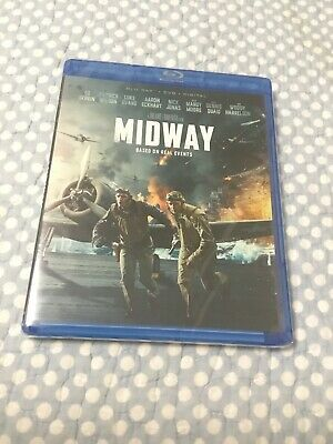 Midway 2019 BLU RAY, DVD, DIGITAL DOWNLOAD (W/ SLIPCOVER) includes Digital Copy