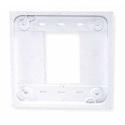 Hubbell Wiring Systems (QTY.5) HBL4APW Pro Series 4-Plex Receptacle WHITE