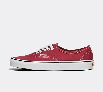 Mens Vans Authentic Dry Rose/True White Trainers (LF1) RRP £54.99