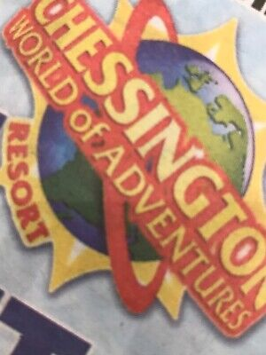 Chessington World Of Adventures x 2 FRIDAY 1st MAY