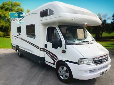 Swift Kon-Tiki 655 4 Berth 4 Seatbelts Motorhome