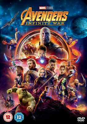 Avengers Infinity War (Robert Downey Jr) DVD New & Sealed