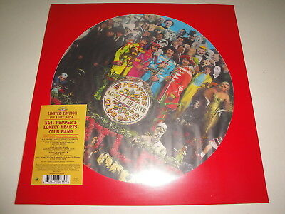 The Beatles: Sgt. Pepper's Lonely Hearts Club Band Picture Vinyl LP