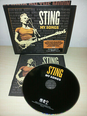 Sting - My Songs - Deluxe Edition - U.s.a. Press - Cd