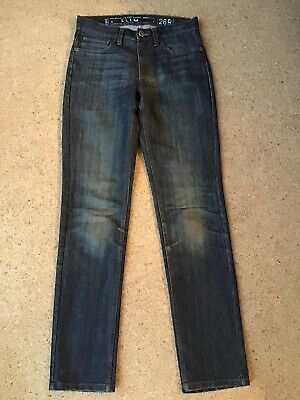 Next Boys Dark Denim Slim Jeans Size 26R