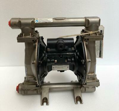 """Graco Husky 1050 Stainless Steel 1"""" Air Double Diaphragm/ Transfer Pump (2)"""