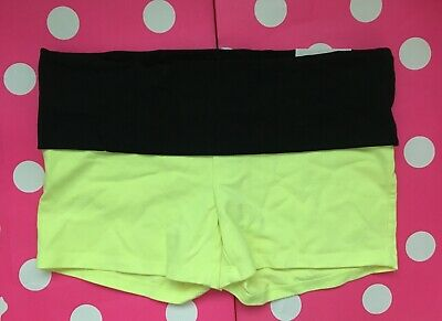 Small, Large NEW Victoria/'s Secret VS PINK Pink Studded Shortie Yoga Shorts