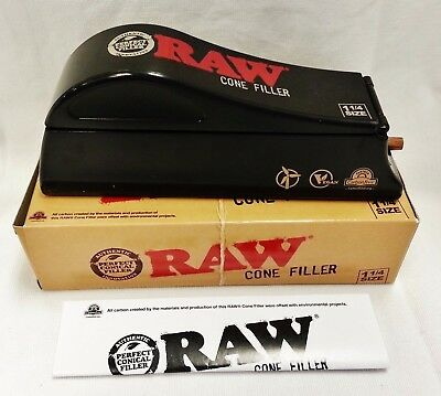 RAW 1 1/4 Size Cone Filler Loader Shooter Machine for Pre-Rolled Cones Free Ship