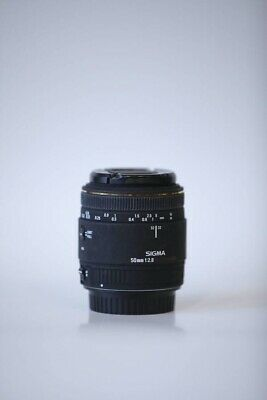 SIGMA EX 50mm 1:2.8 MACRO LENS For EF Mount Canon