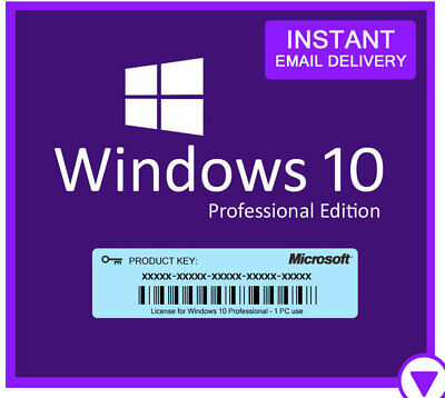 Windows 10 Pro Licence Key - Instant - 24/7 Support  Key-original
