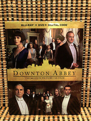 Downton Abbey Movie (2-Disc Blu-ray/DVD, 2019)+Slipcover.Crawleys.Maggie Smith