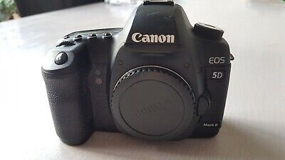 Canon EOS 5D Mark II camera body (shutter count <42k), sold AS-IS
