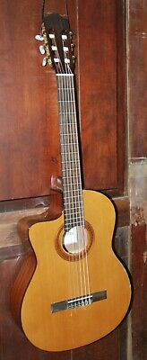 Cordoba C5-CE Lefty Cutaway Acoustic-Electric Nylon String Left-Handed Guitar