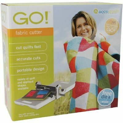 55100 - AccuQuilt Go Fabric Cutter Quilt Making System