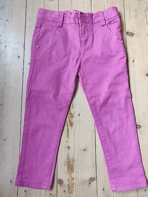 Girls Ted Baker Pink Jeans Age 4-5