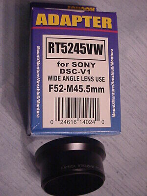 SONY/Raynox Adapter RT5245VW for SONY DSC-V1 W.-Angle use F52-M45.5 mm