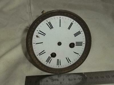 Antique French Clock Movement , Ac&B, Paris For Parts/Repair