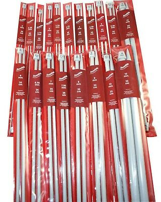 Knitting Needles 35cm - Whitecroft Essentials - sizes 4mm to 10mm