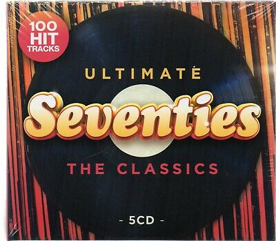 100 Hit Tracks Ultimate Seventies The Classics - Various (CD 2020) New/Sealed