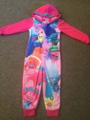Girls Exstore Trolls All in One Sleepsuit Size 9 - 10 years - New!!!