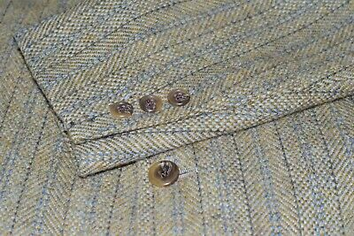 J.Press Tweed Blazer Mens 3/2 Roll Herringbone Sport Coat Jacket Size 40-R