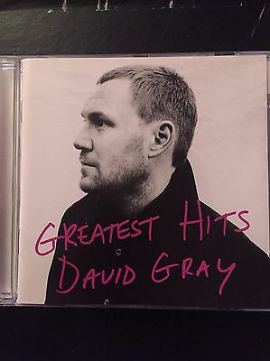 David Gray Greatest Hits Barely Used 14 Track Best Of Cd 90s 00s Pop Rock Cd
