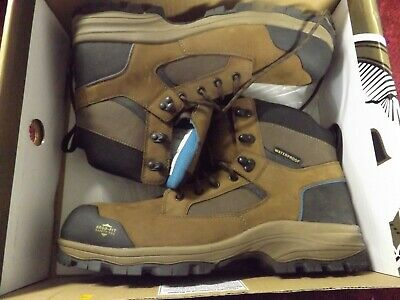 Waterproof Composite Toe Work Boots for Men size 11w US GB00108 With Box.