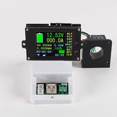 DC 500V 100A 200A 500A Wireless voltage meter ammeter Solar Battery Charging
