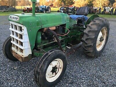Oliver 550 Tractor Gas Engine