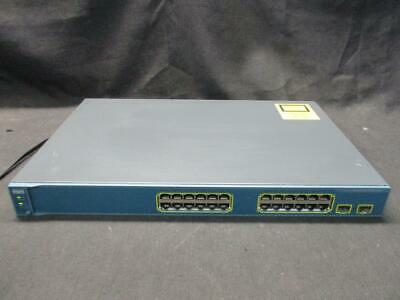 Cisco WS-C3560-24TS-S Cisco 3650 24-Ports 10//100 Ethernet Switch FAST SHIPPING