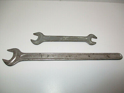Lot Of (2) Wgb Wrenches Wgb 17  Long Open End & Wgb Din 895  11-13 Dbl.open End