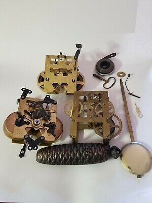 Mantle Clock Movements Lot