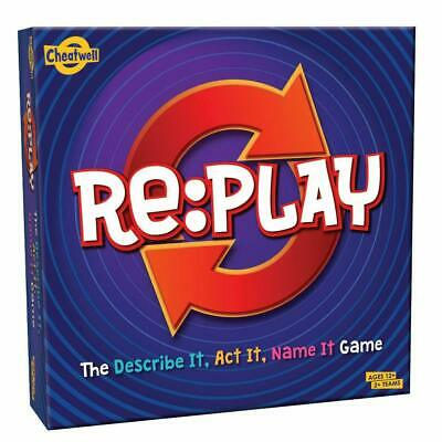 Cheatwell Games Re:Play Board Game Best 2020 Game New and Sealed for Children