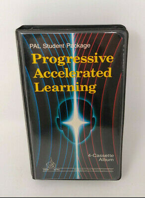 HEMI SYNC PAL Student Package Progressive Accelerated Learning 4-Cassette Tape