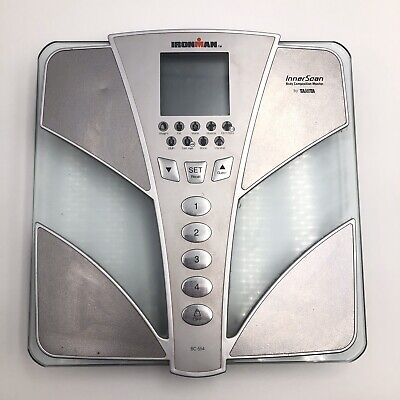 Tanita Ironman Innerscan Body Composition Monitor Scale BC-554 - Tested Works