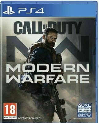 Call of Duty: Modern Warfare 2019 CoD Activision (Sony PlayStation 4, PS4)