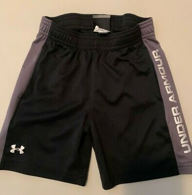 Boys Under Armour Shorts Size 3T  Black and Grey