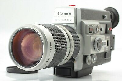 【NEAR MINT】Canon Auto Zoom Electronic 1014 Super8 movie camera From japan #269