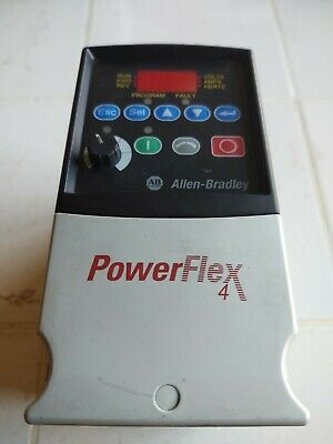 ALLEN-BRADLEY  PowerFlex4   22A-D1P4N104 MOTOR RATING  0.4W/0.5HP
