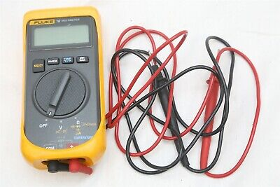 Fluke 16 Handheld Multimeter w/ Case & Leads