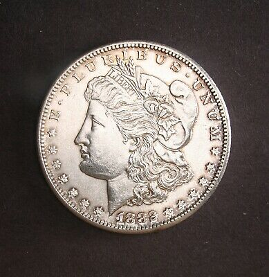 1882-S *High Grade* Morgan Silver Dollar (Nice Coin MS UNC) Full Breast Feathers