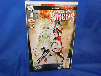 GOTHAM CITY SIREN #1 Harley Quinn, Poison Ivy, DC Comics Birds of Prey, VF/NM