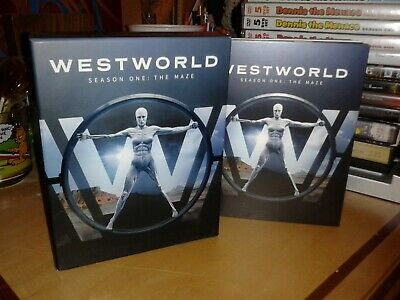Westworld Complete First Season 1 one Blu-ray set, no digital copy hbo